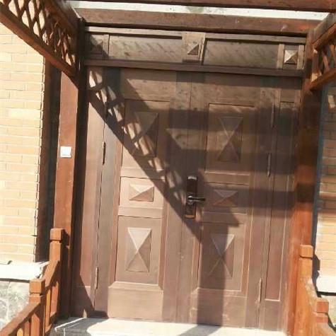 【南京大量上门安装图片农村大门别墅门铜质小区户型别墅小图片