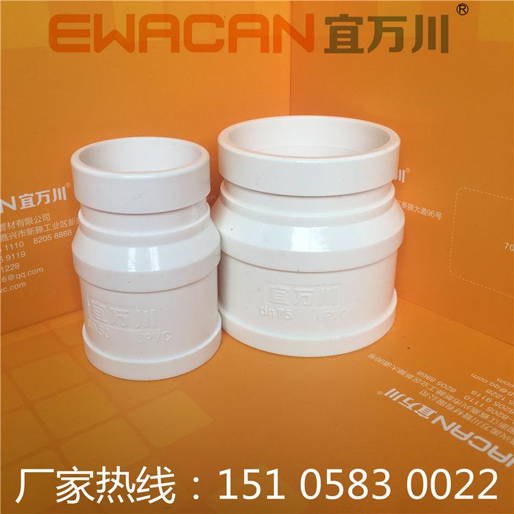 青岛HDPE沟槽式超静音排水管,HDPE柔性承插排水管,装配式HDPE示例图3
