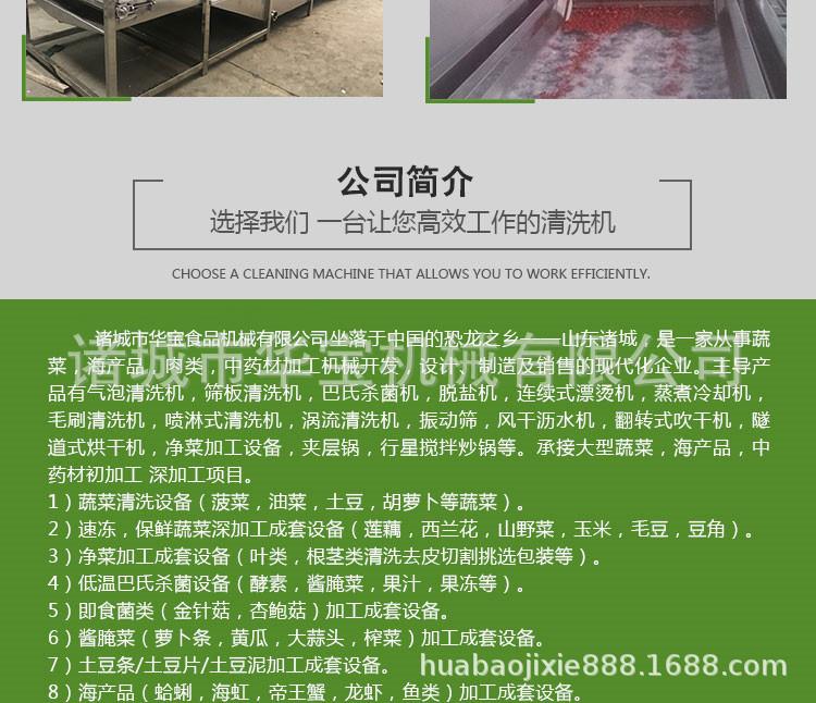 供应莲雾全自动清洗机 厂家直销质量可靠示例图9