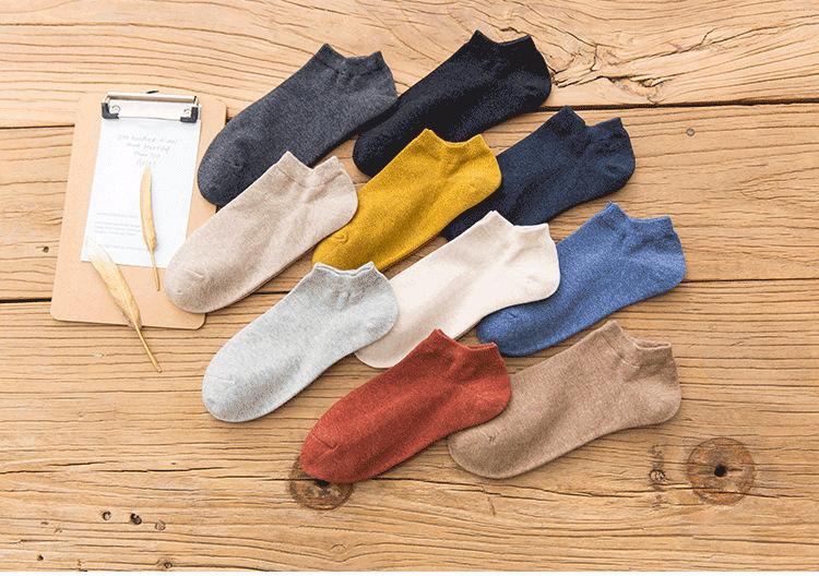 19春夏款新品潮 糖果色女士船袜 女士运动船袜全棉休闲浅口短袜示例图10