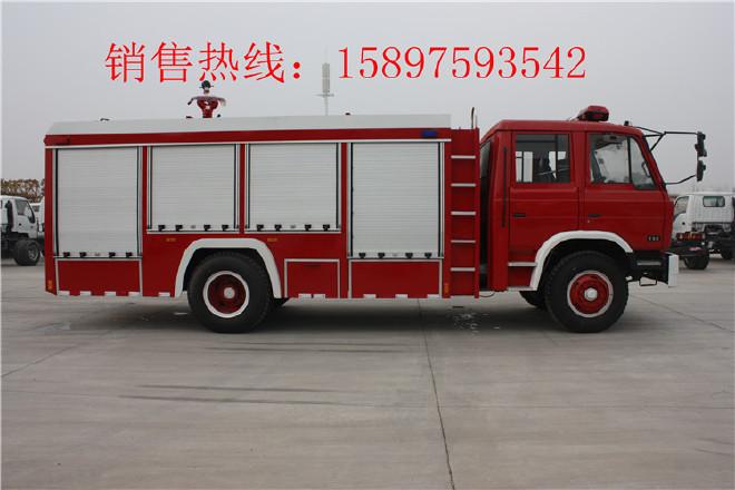 普宁五十铃举高喷射消防车,抢险救援消防车图片