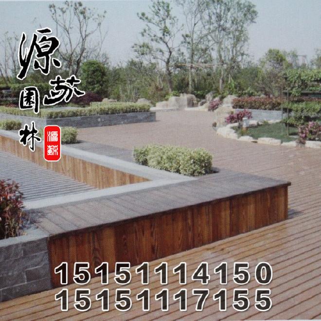 定做别墅木桥 水池木桥 景观小木桥 防腐木木桥安装设计图片