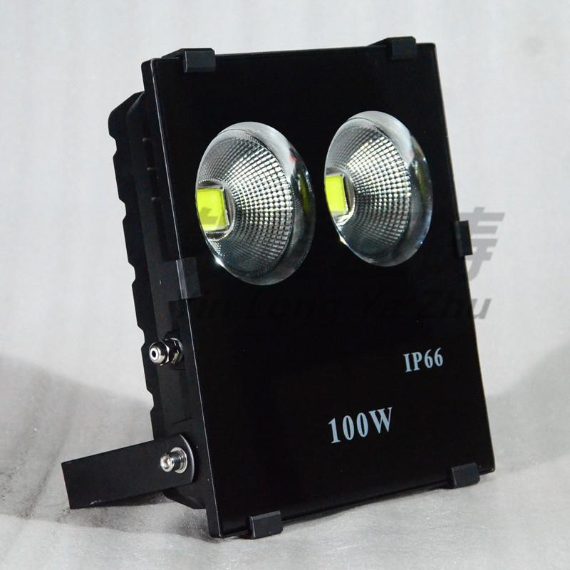 新款仿超高品質 LED大功率100W聚光投光燈外殼