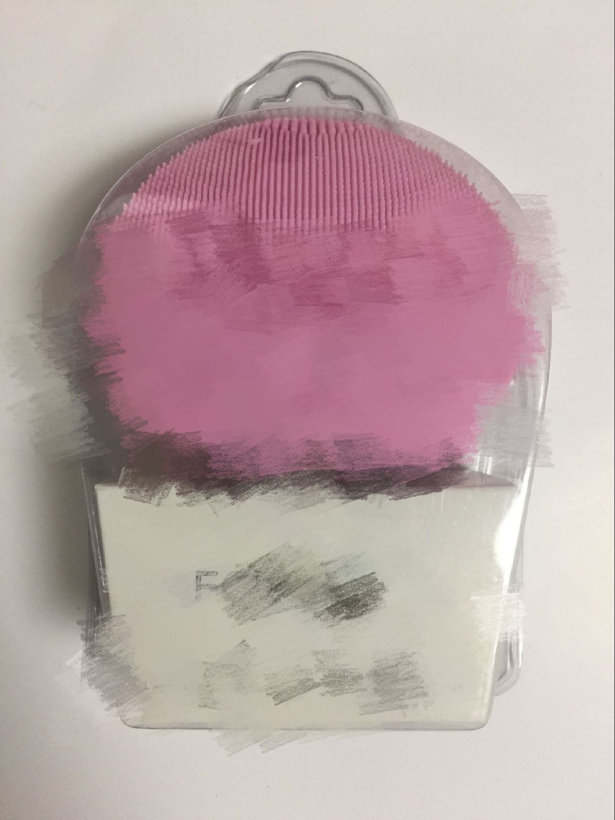 lu潔面儀 硅膠超聲波震動洗臉儀 廠家直銷