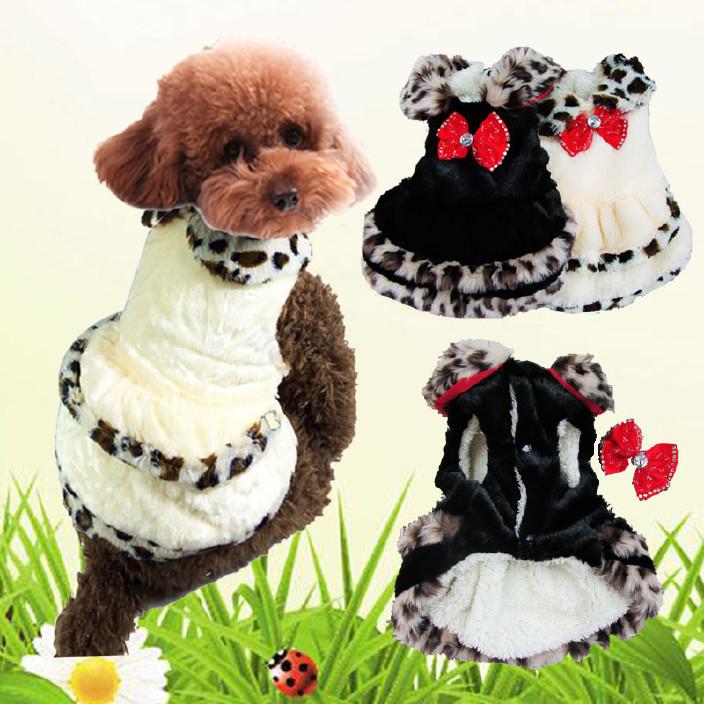 外贸宠物衣服 宠物皮草大衣 冬款宠物服装批发 广州狗衣服厂家图片