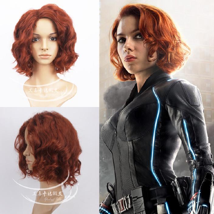 复仇者时代黑假发奥创牧师造型款cosplay性感寡妇联盟幻化装备图片