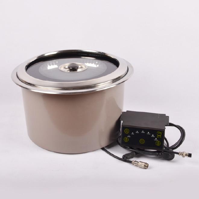 下排烟圆型电烤炉 光波电烤炉 电陶烧烤炉图片