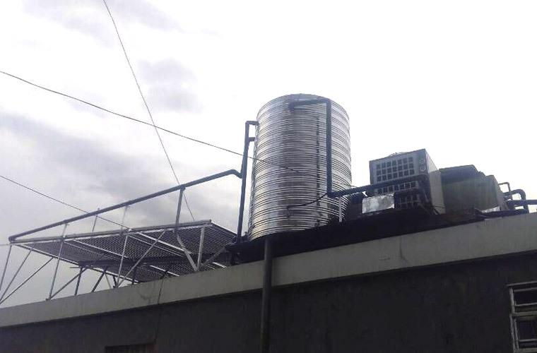 2高温空气能热泵热水器 外壳不锈钢空气能机组 热水器厂家示例图12