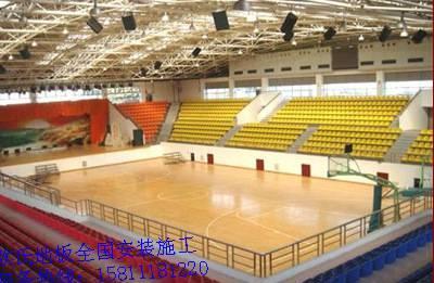 【广西省体育馆室内v亲子木地板亲子馆实木地板蓝球装夏一件待发图片