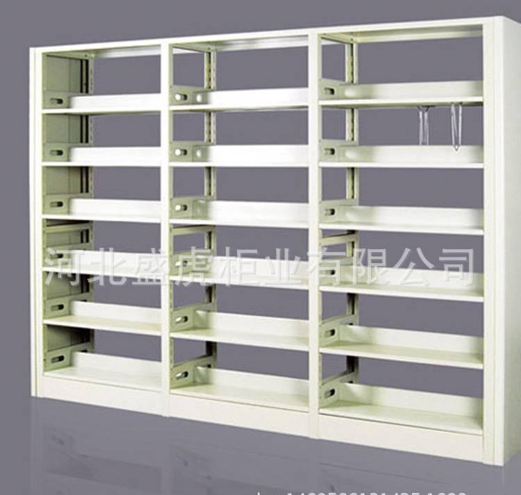 图书馆书架钢制书架牢固双面书架厂家直销