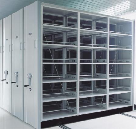 图书馆书架|标本密集柜|底图密集柜|油画密集柜|移动货架示例图3