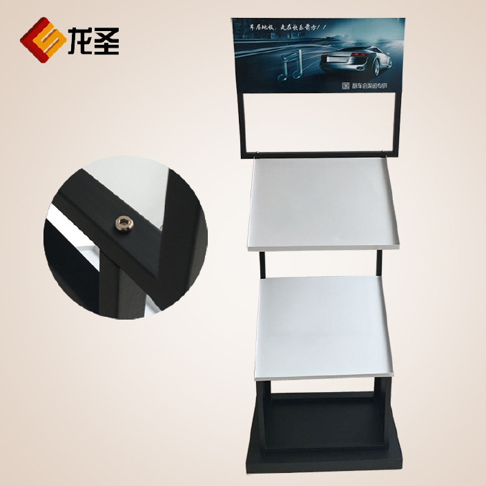展架货架 厂家直销金属广告立式货架 新款展览器材展架创意定制图片