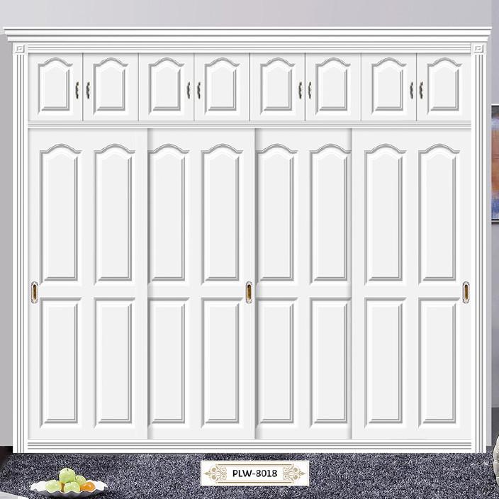 成都卧室环保衣柜门定制整体家具鞋柜个性化书柜门定做全铝移门