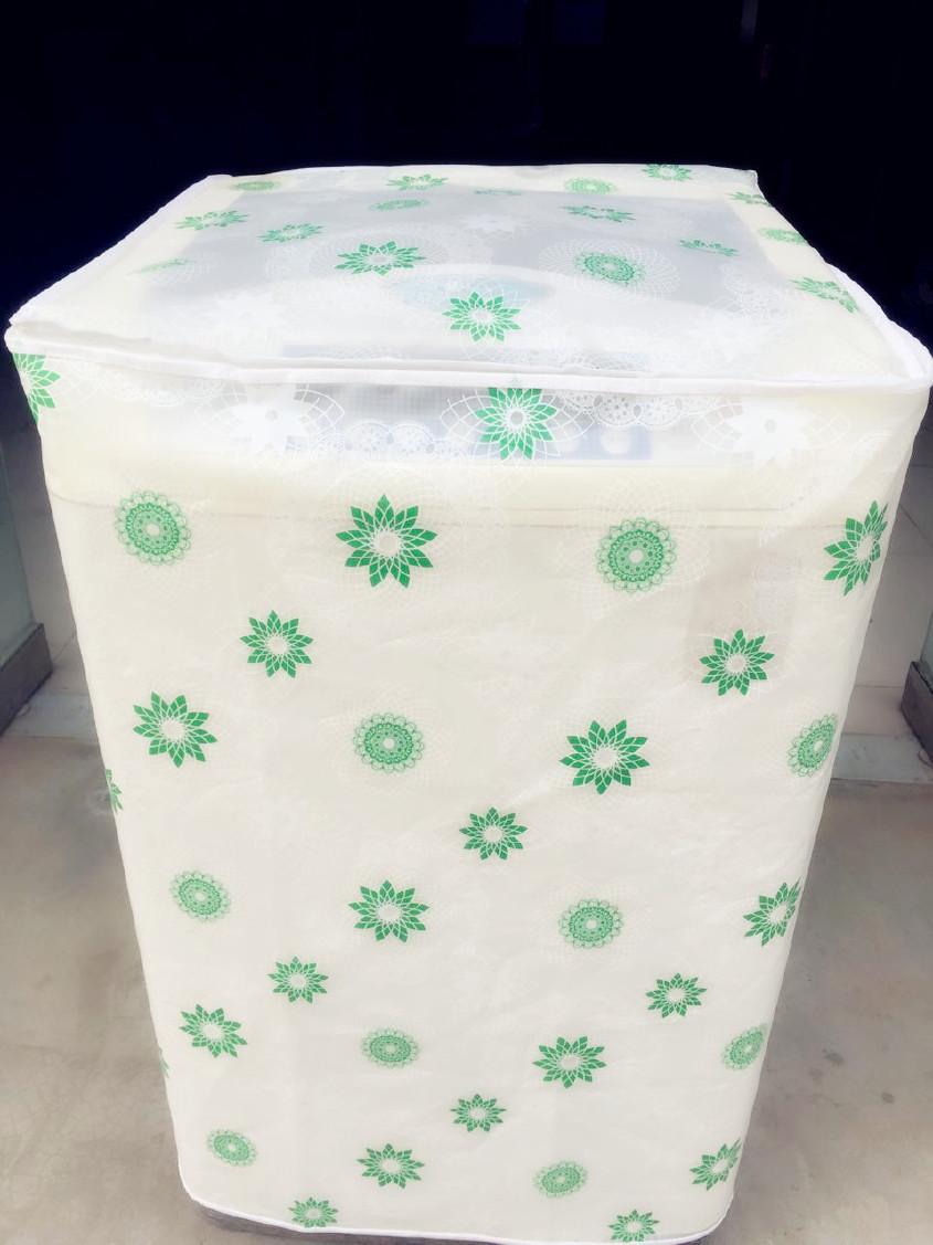 厂家直供双杠洗衣机罩定做广告洗衣机罩空调外机罩以及原料半成品