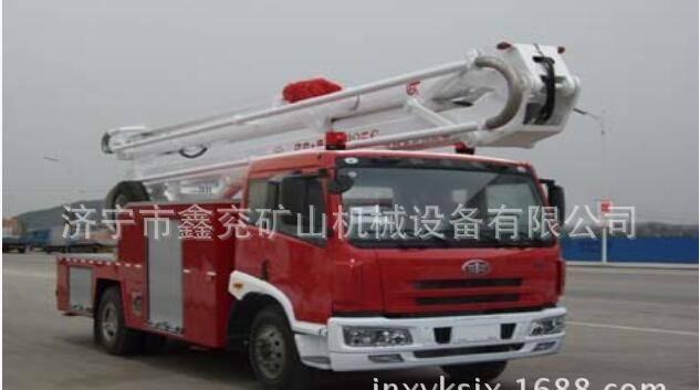 解放举高喷射消防车  质量保证 厂家直销图片