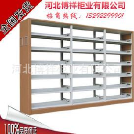 图书架订做/河北书架定做/图书馆书架/钢制图书架/博物馆书架