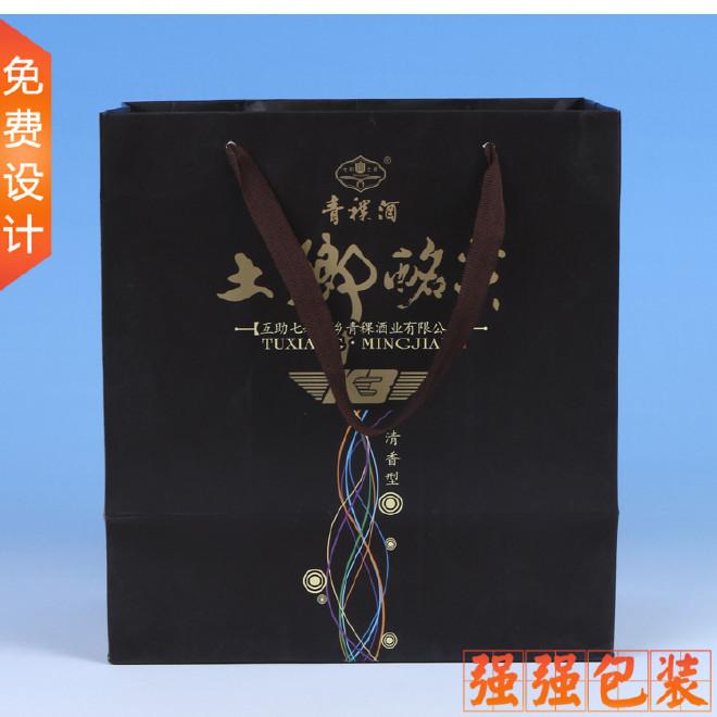 厂家热销 环保手提礼品袋定制LOGO 高档彩印纸质韩国礼品袋 批发图片