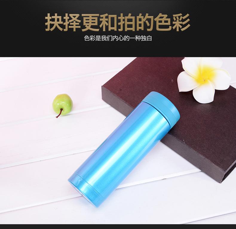 保溫杯批發 韓版可愛不銹鋼杯子 保溫杯禮品 廠家直銷批發示例圖5