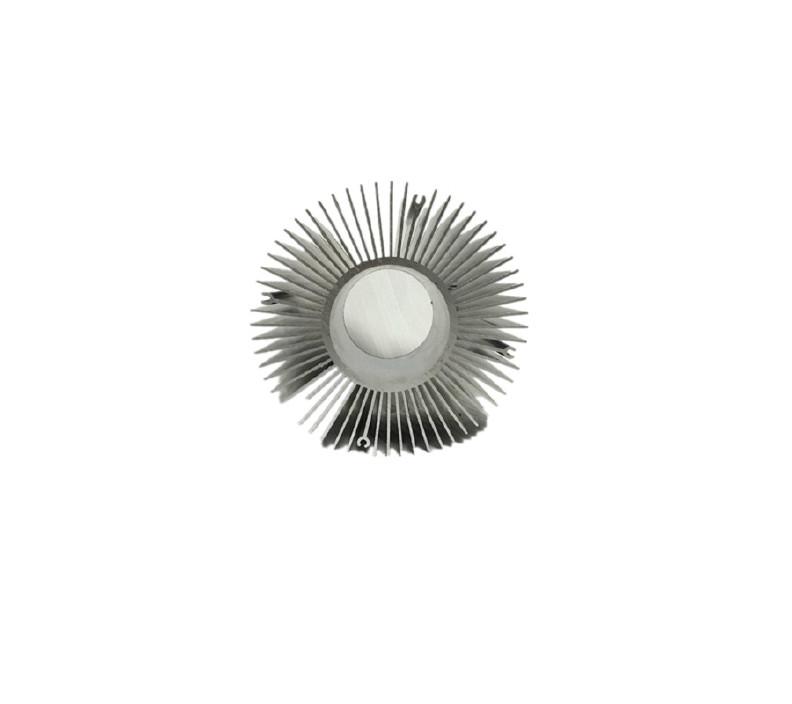 铝合金密齿散热器散热器铝型材优质梳子散热器玉米灯散热器