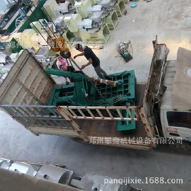 攀奇金属下角料压块机 废旧金属液压压块机 郑州废铁压块机厂家示例图5