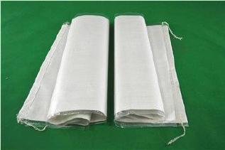 白色中厚覆膜防水��袋40*65�子粉包�b袋再生料防水被蟹耶多�褐�打打包袋批�l示例�D6