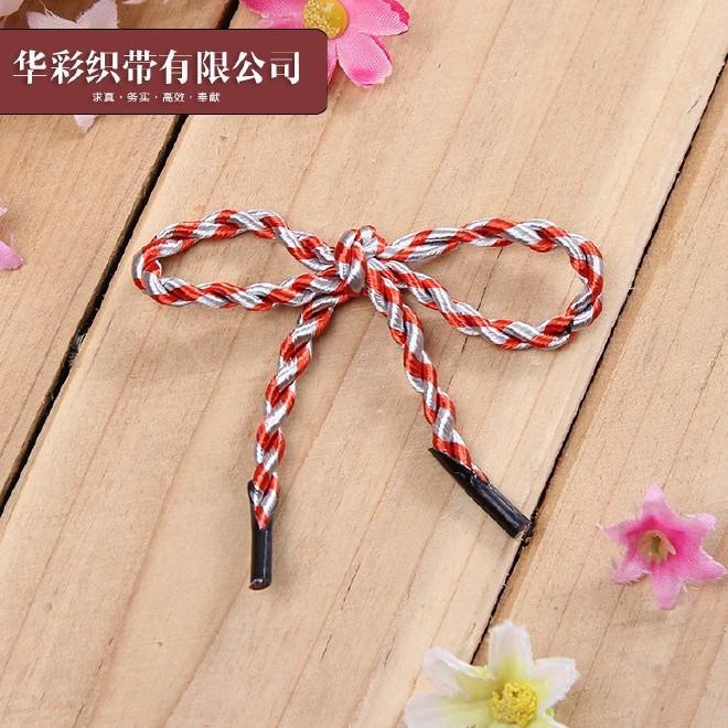 厂家直销塑料卡头礼品袋手提绳手拎绳包装袋绳 规格齐全 款式多样图片
