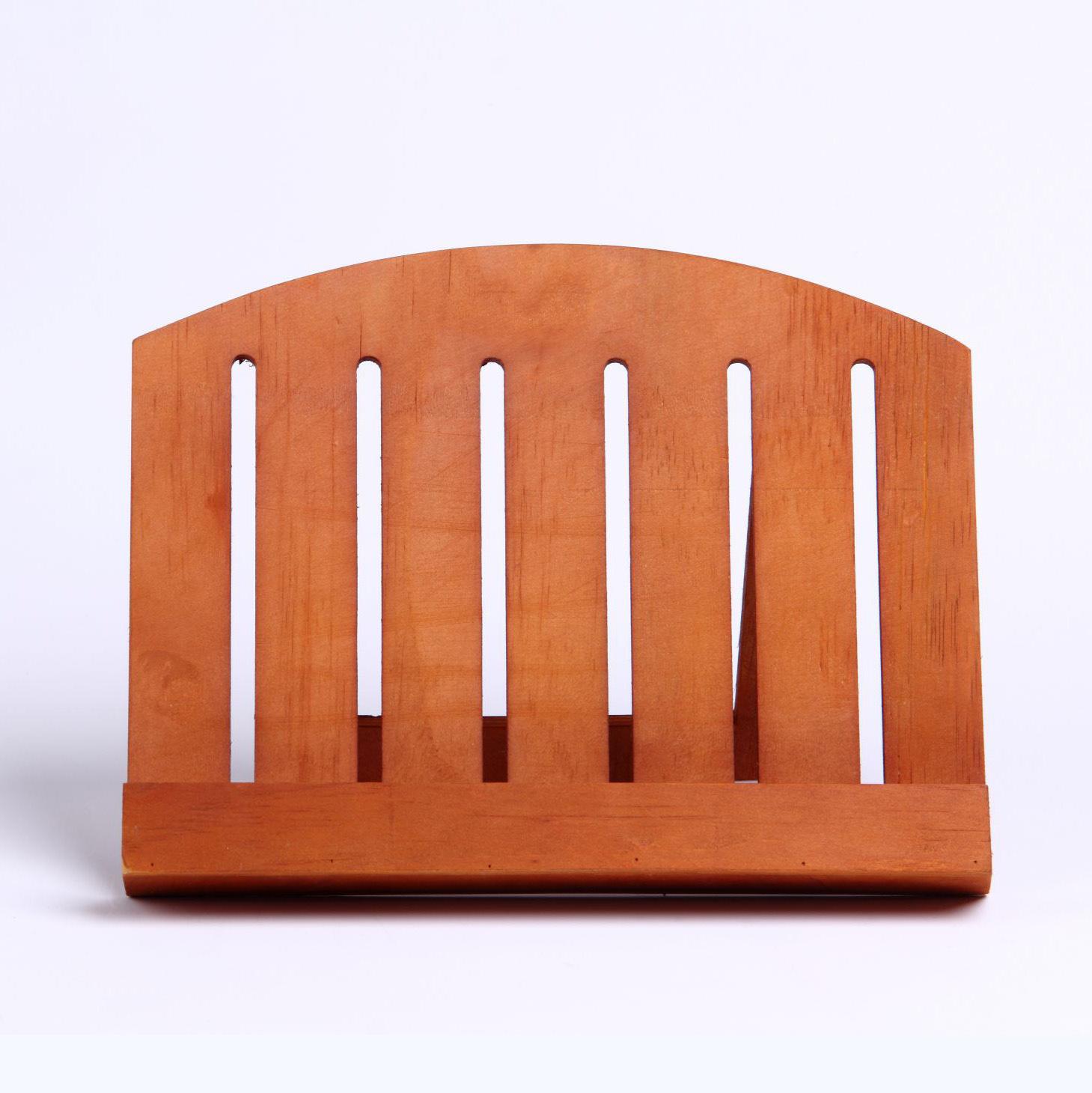 创意实木看书架 简易桌面木制书架儿童学习书架厂家定制