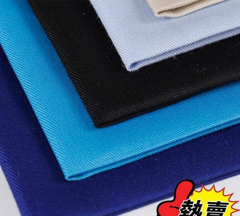 滌棉細斜 現貨  斜紋布 廠家直銷 面料 混紡 工裝布料 滌棉圖片
