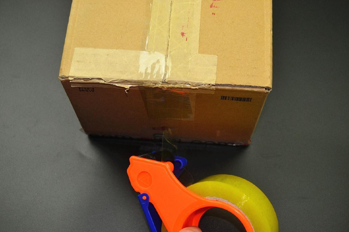 封箱器打包胶带大小号机胶带切割器蓝色封箱带切割面打包器手持示例图20