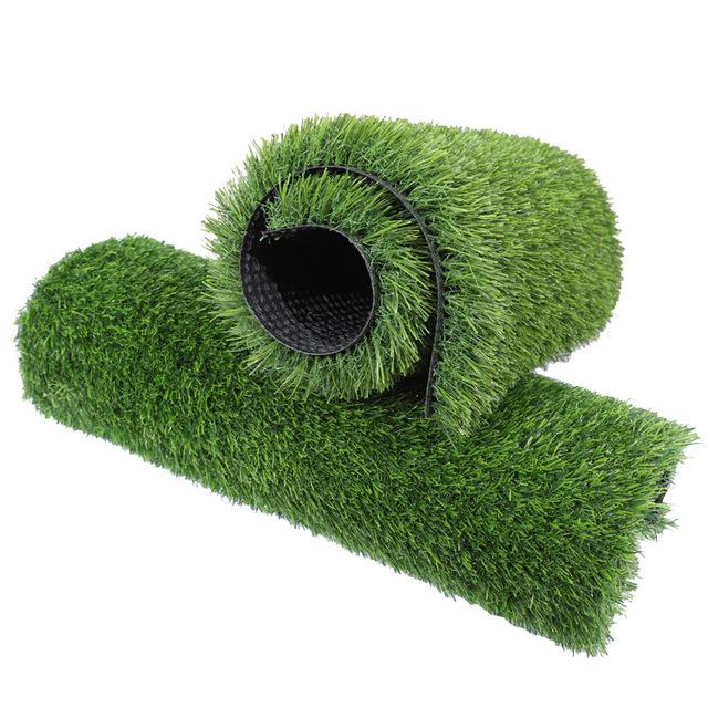 操場人工塑料假草坪 仿真單色夏草草坪 人造幼兒園地毯草坪