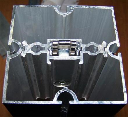 国际展会专用摊位 八棱柱标摊展架 33标准展位 展览摊位搭建铝材