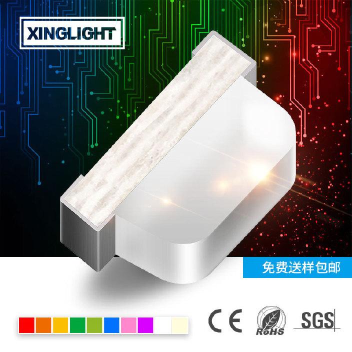 厂家批发 0602侧面发光灯珠 高亮贴片LED灯珠发光二极管 可定制图片
