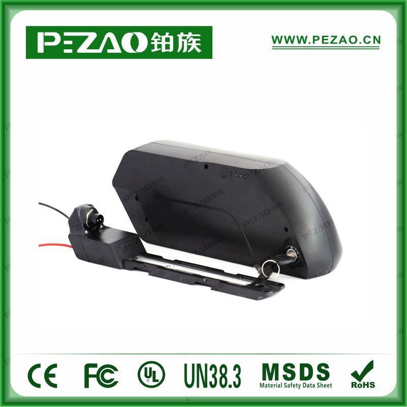 铂族电池 虎鲨款自行车电池组/锂电车电池组/18650动力电池组 36V12A-21Ah动力电池组示例图6