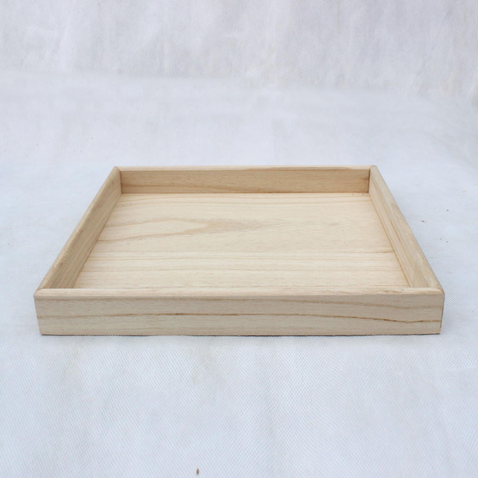 欧式实木水果盘托盘 日用品木质平盘家居餐盘厂家直销