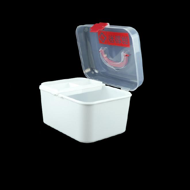 厂家直销塑料药箱 家用药箱 药品收纳箱手提箱药房赠品扶贫保健箱示例图7