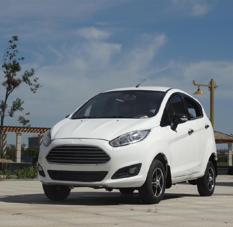 新款纯电动汽车价格四轮车轿车新能源观光车成人油电两用老年代步