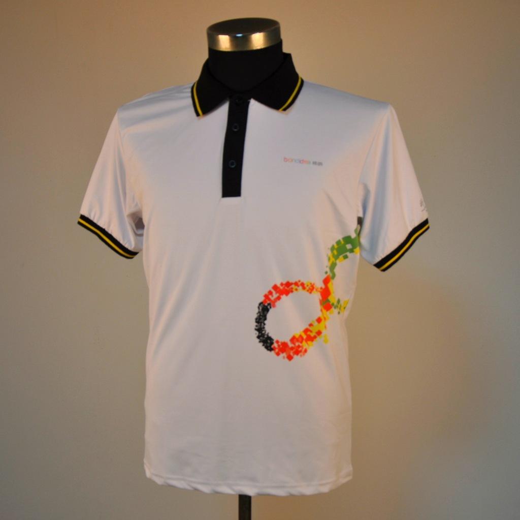供应广告促销t恤衫 免费时尚印花图案设计 短袖polo衫 翻领