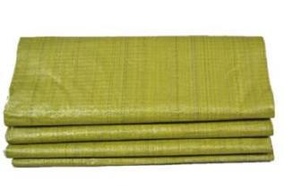 黄色编织袋厂特价80斤粮食袋普黄色蛇皮袋中厚结实塑料编织袋批发示例图6