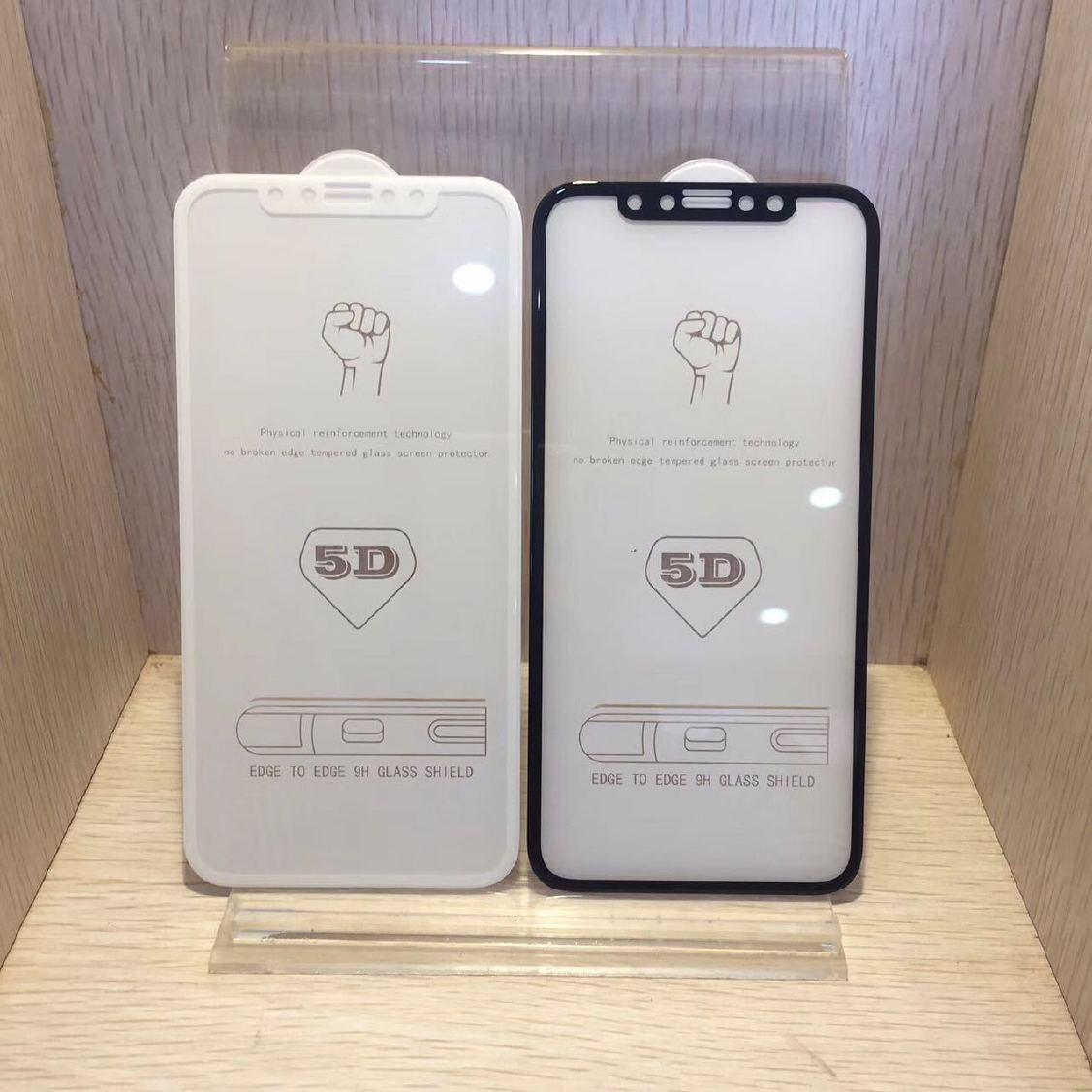 冷雕iphoneX装修膜教程X视频全钢化硬边全玻曲面苹果网店覆盖图片