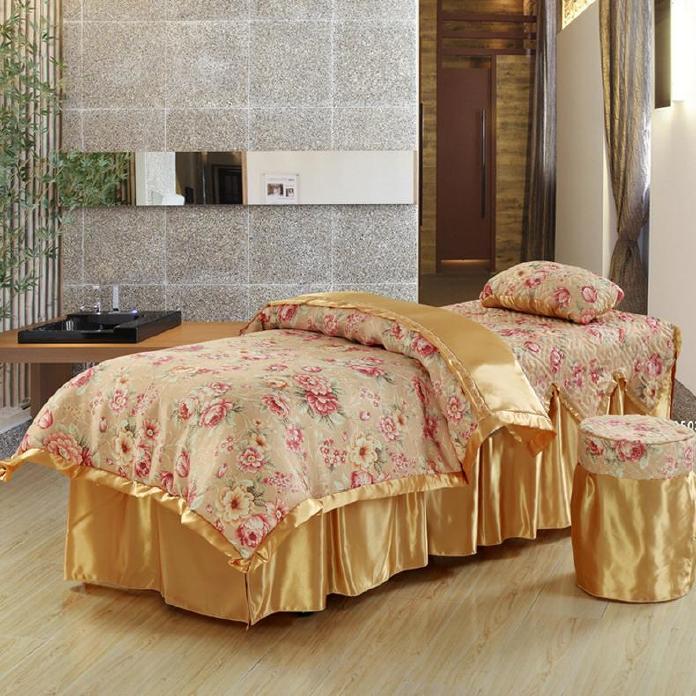 新款包邮 亲柔棉美容床罩美容美体按摩理疗SPA洗头床罩可定做