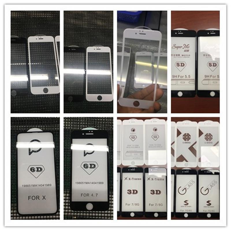 定制蘋果鋼化膜 品牌高端定制 曲面鋼化膜工廠加工 3D蘋果手機膜