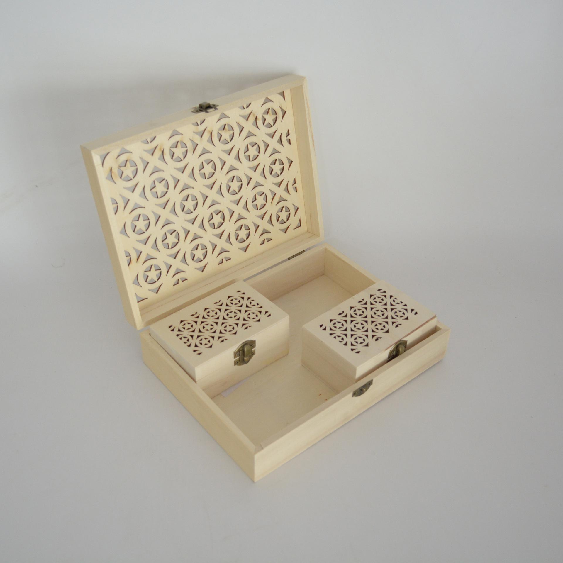 高档普洱茶包装盒 镂空雕刻木制铁观音茶叶空礼盒定做大红袍礼盒