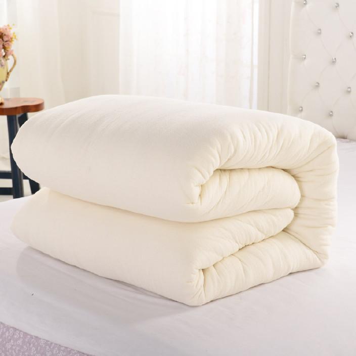 免费代理 棉花被 新疆棉被胎 单双人有网纯棉被芯 长绒棉被子图片