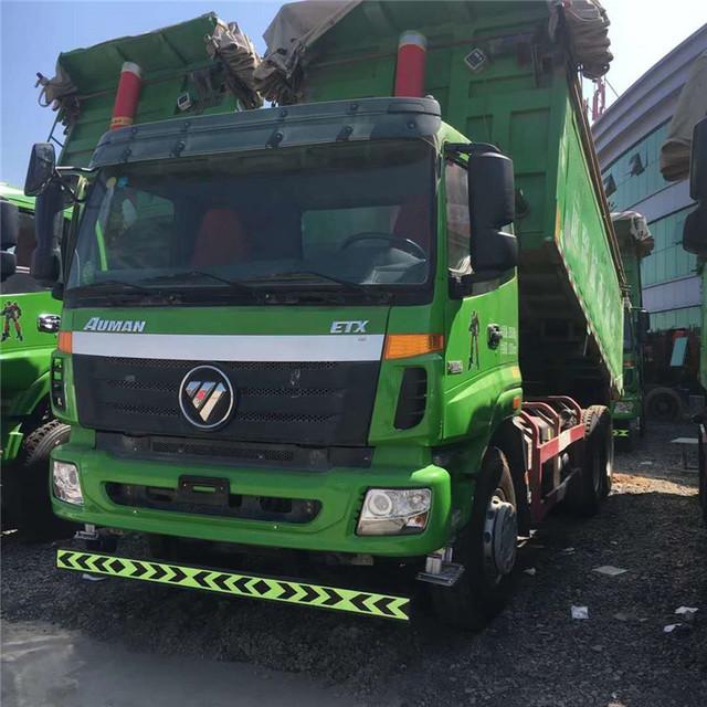 出售15年二手自卸车 国五欧曼二手渣土自卸车  环保新型渣土自卸车8米