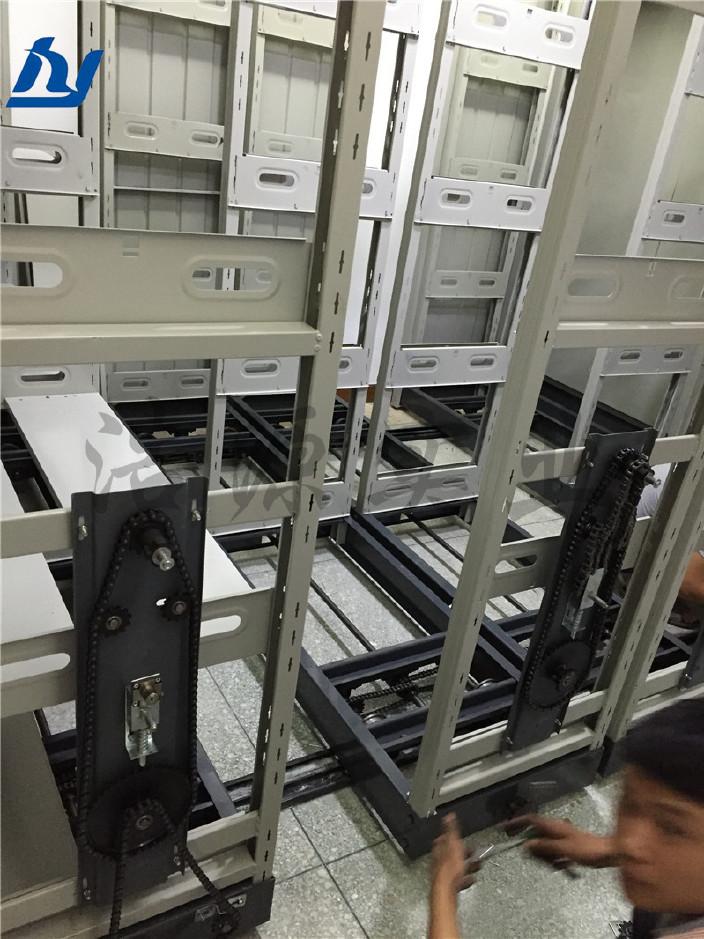 惠州密集架厂家 档案密集架 档案密集架 移动密集架 手摇密集架示例图8