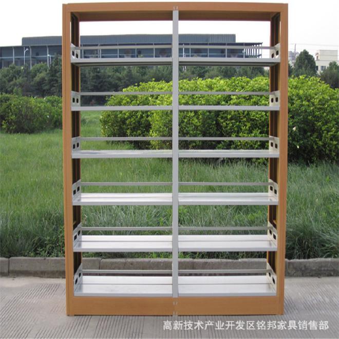 重庆厂家批发钢制书架 学校图书馆书架定做 密集架货架文件柜