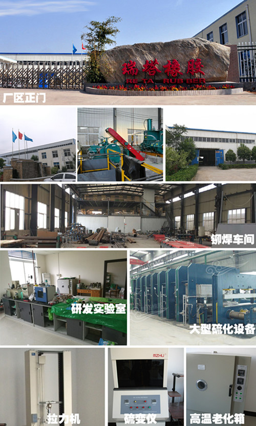 港口陶瓷胶板  山东现场陶瓷包胶厂家示例图1