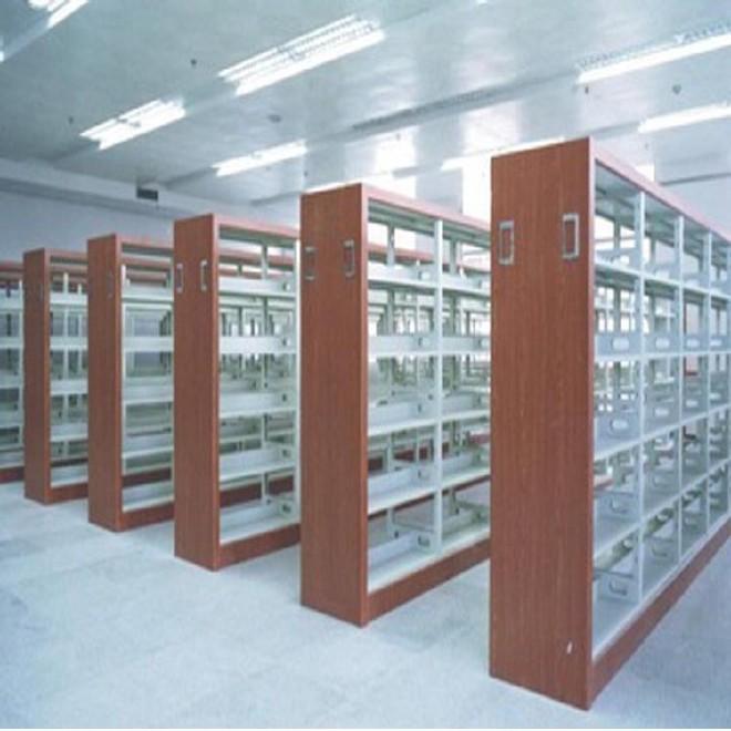 工厂定做书架置物架 自由组合书架 阅览书架子订做组合书柜