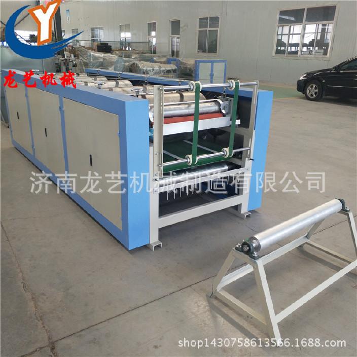 厂家供应编织袋胶版四色印刷机 气动一体大米袋自动印刷收一体机图片