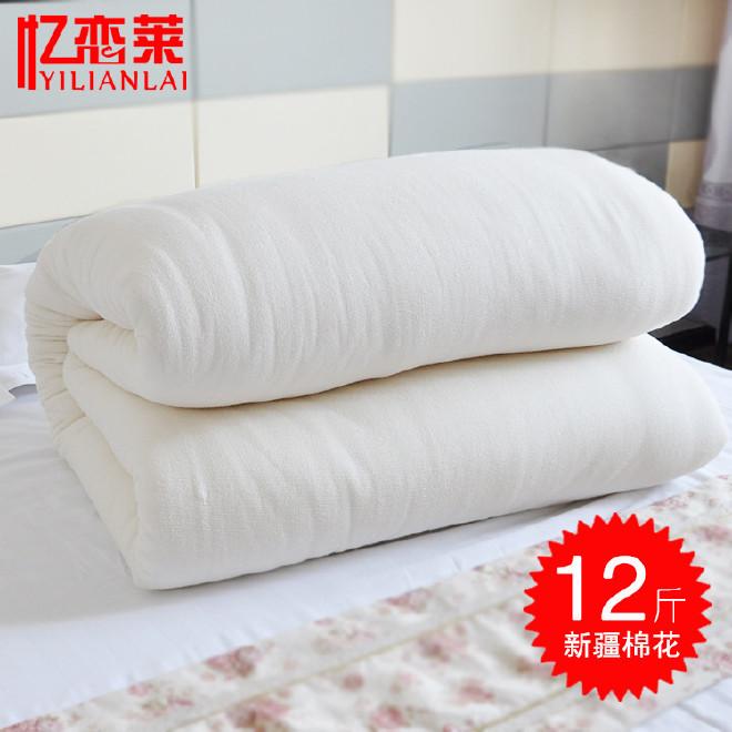 冬季加厚被褥新疆棉被批发 12斤棉胎棉被厂家直销被芯加工棉被图片